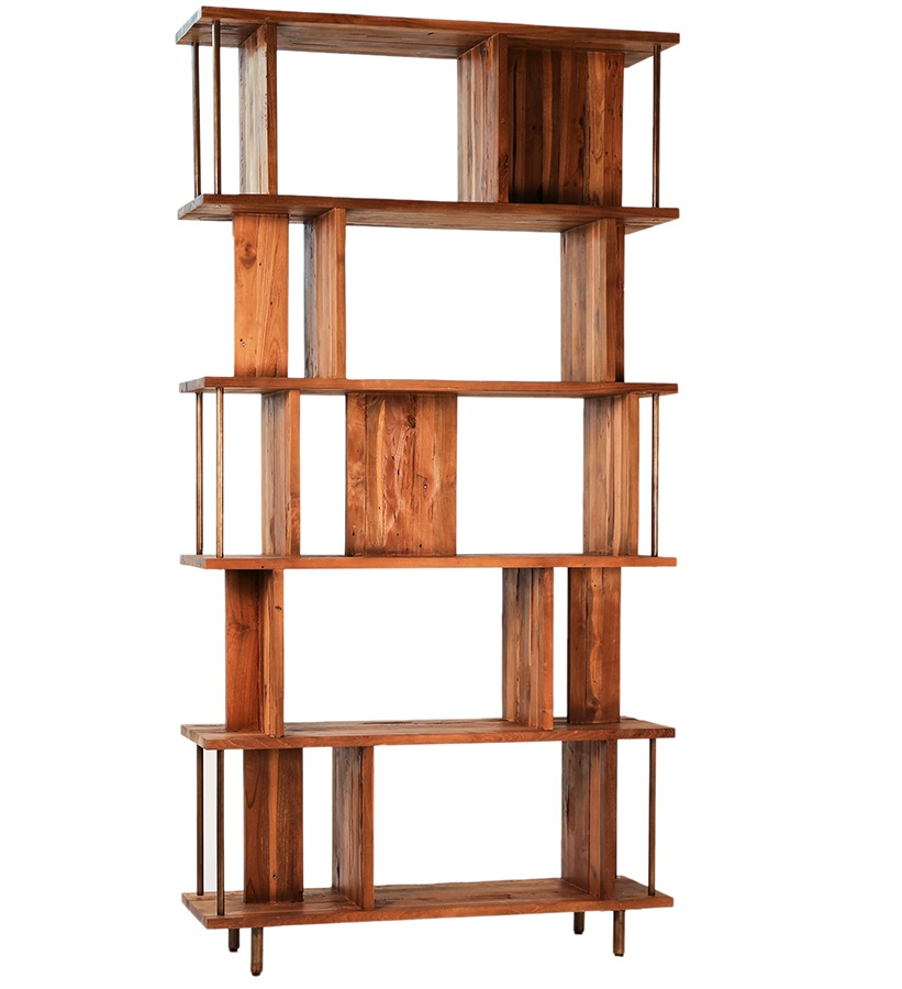 Denise Reclaimed Teak Bookcase