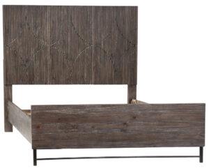 Kershaw Brown Wood Bed