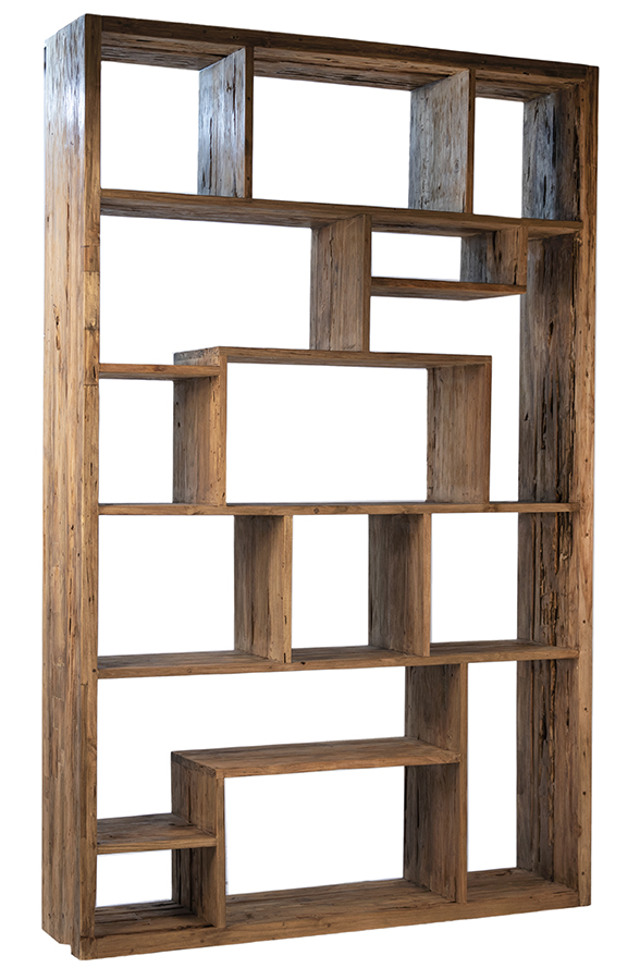 Mariz Reclaimed Wood Bookcase