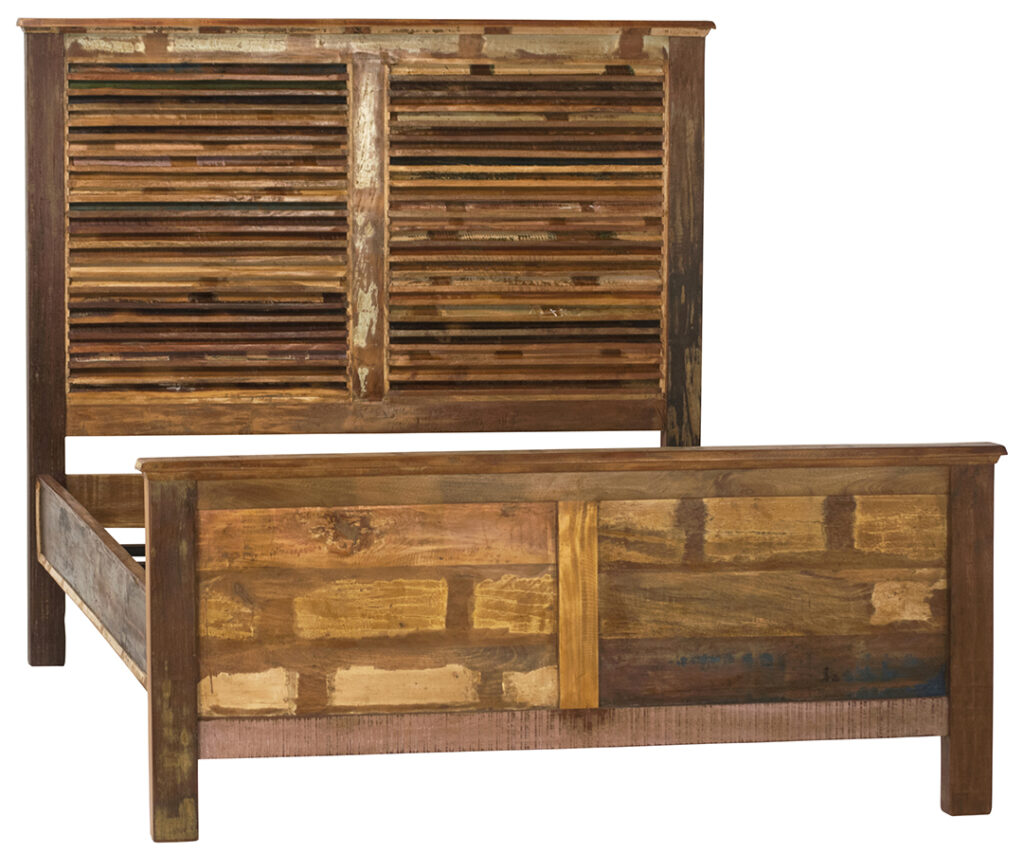 Nantucket Reclaimed Wood Bed