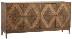 Touta Oak Wood Sideboard Cabinet
