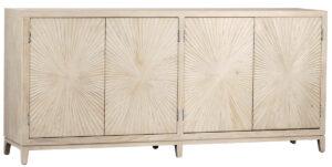 Melrose Grey White Wash Sideboard
