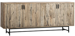 Larson Rustic Wood Media Cabinet