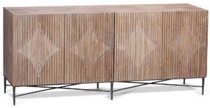 Zell Grey Wash Wood Sideboard