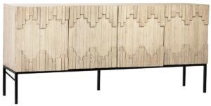 Mabini Reclaimed Wood Media Cabinet