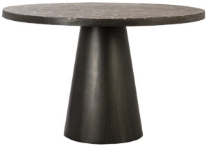 Biskra Lavastone Top Pedastal Dining Table