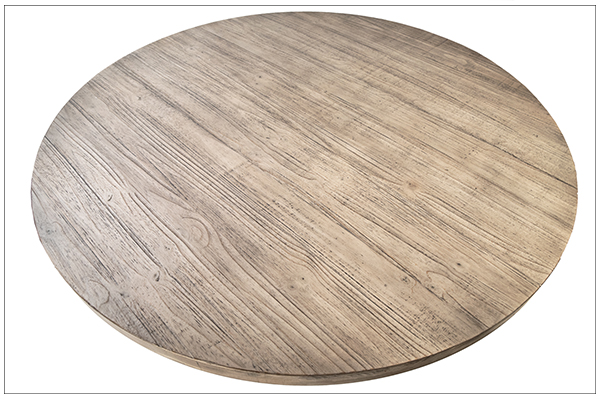 Baxley Round Dining Table top view