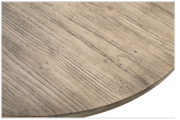 Baxley Round Dining Table closeup view