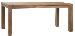 71″ Hogan Reclaimed Teak Natural Wood Dining Table