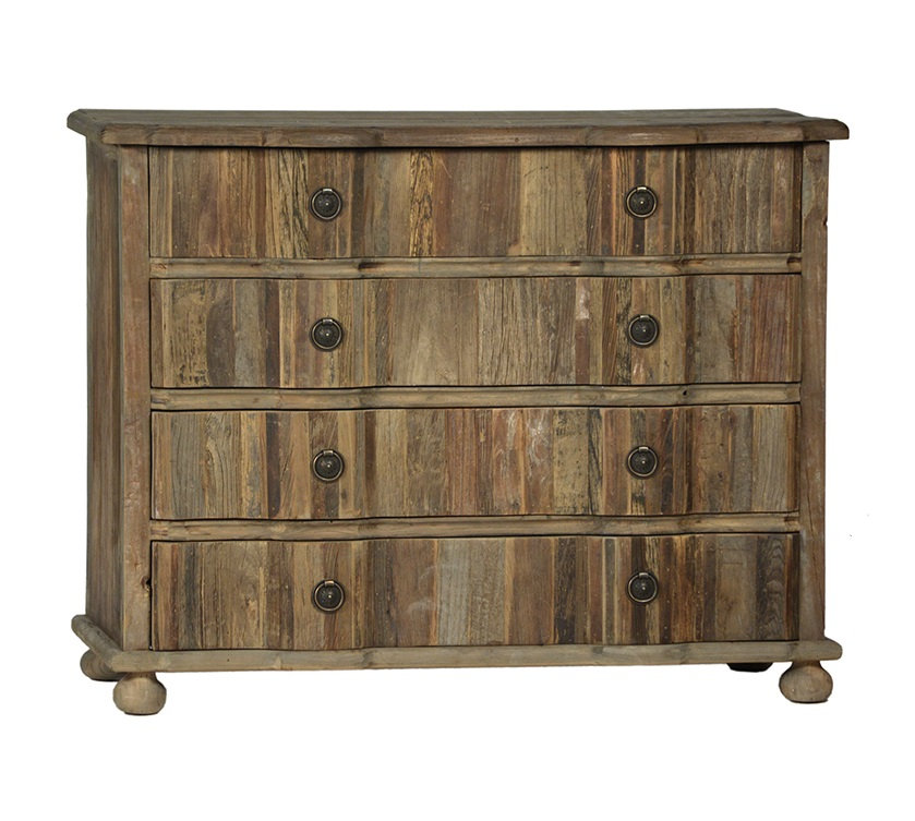 Reclaimed Wood Chest of Drawers Dresser
