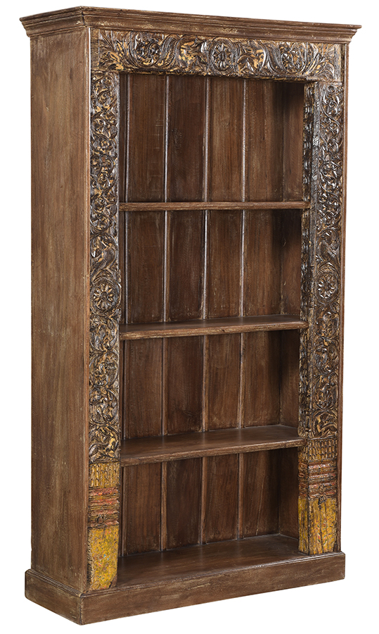 Vintage Door Frame Bookcase