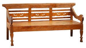 Vintage Madura Teak Bench