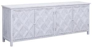 Santana Reclaimed Wood White Sideboard