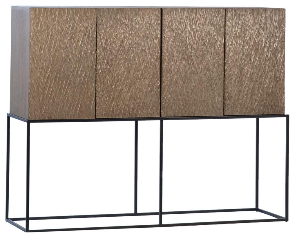 Alcala Tall Wood Cabinet