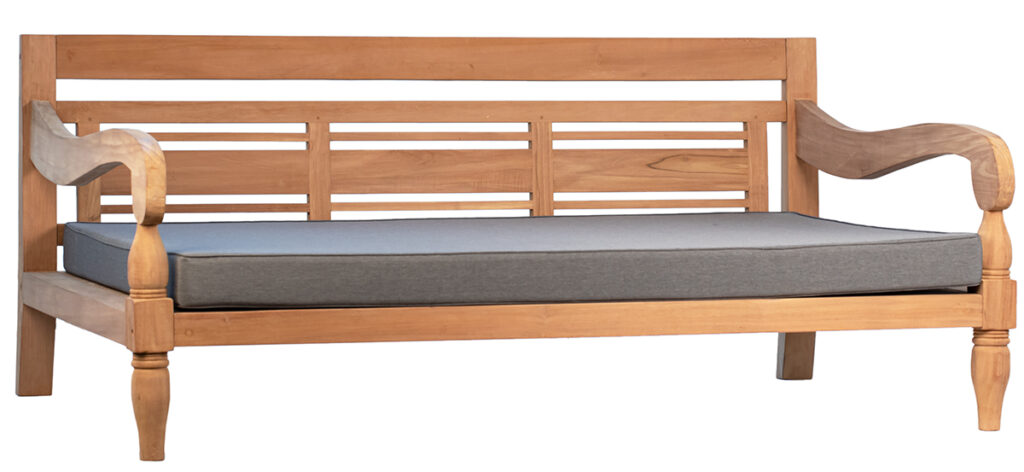 Hilton Teak Wood Daybed Outdoor