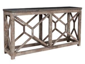 67″ Rebecca Console Table with Bluestone Top