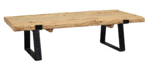 Sherwood Reclaimed Wood and Iron Coffee Table