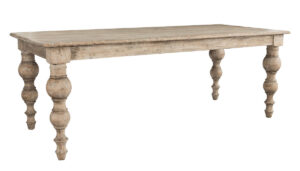 Bordeaux Distressed Wood Dining Table