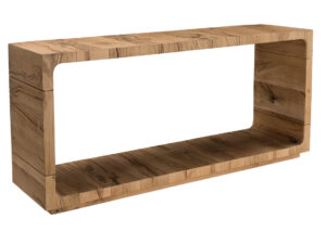 Soho Natural Wood Console Table