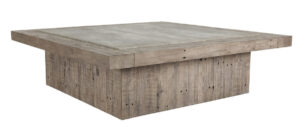 Scottsdale Square Reclaimed Wood Coffee Table
