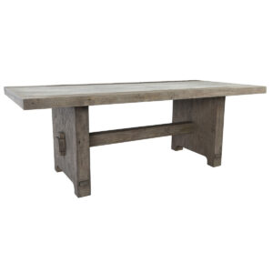Claire Concrete and Wood Dining Table