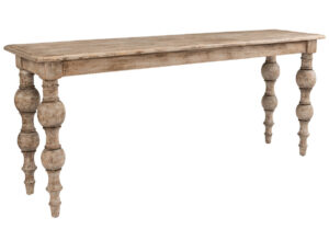 Bordeaux Reclaimed Wood Console Table