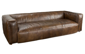 Connor 97″ Top Grain Leather Sofa
