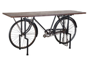 Cycle Wood and Iron Large Gathering Dining Table