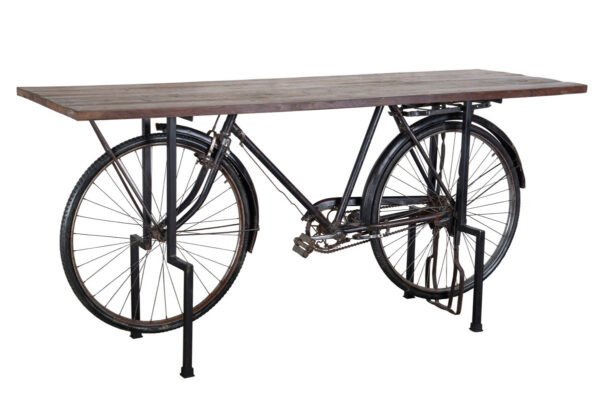 Table with bicycle base