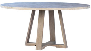 63″ Merrick Wood Round Dining Table