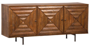 Driscoll Mango Wood and Iron Console