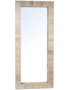 Genesis Reclaimed Wood Floor Mirror 82″