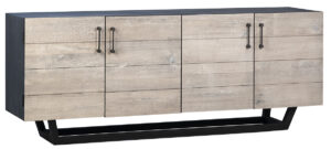Grady Light Grey Wood Sideboard