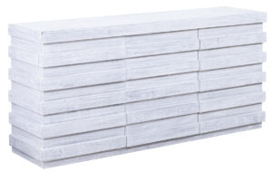 Tanza White Wood Sideboard