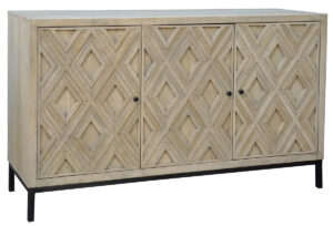 Hilario Reclaimed Wood and Iron Sideboard