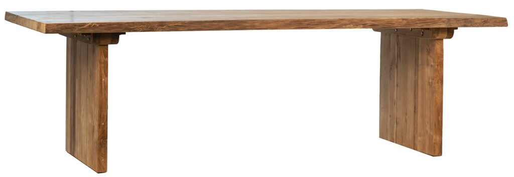 Large Solid Teak Dining Table Indoor/Outdoor use