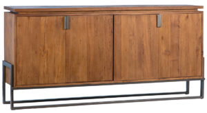 Zyder Reclaimed Wood and Iron Sideboard