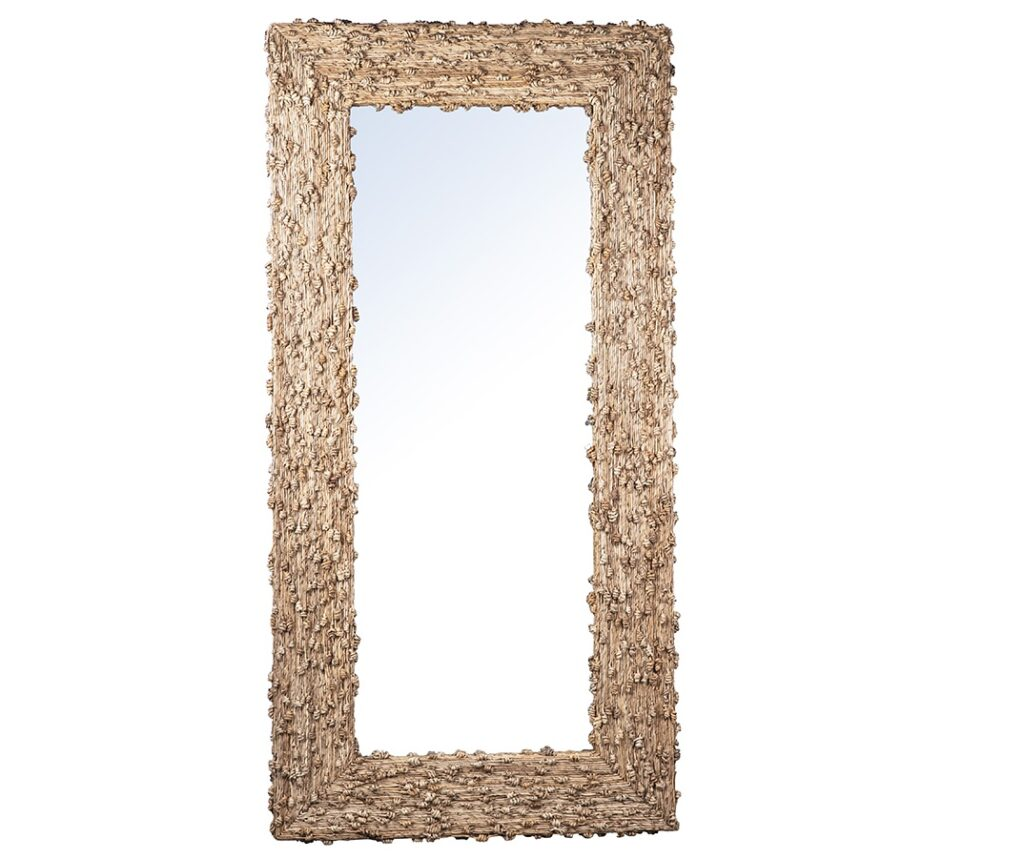 Ravalli Tall Natural Wood Mirror