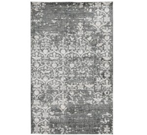 Evry Black and Gray Rug