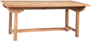 Natural Teak Outdoor Dining Table
