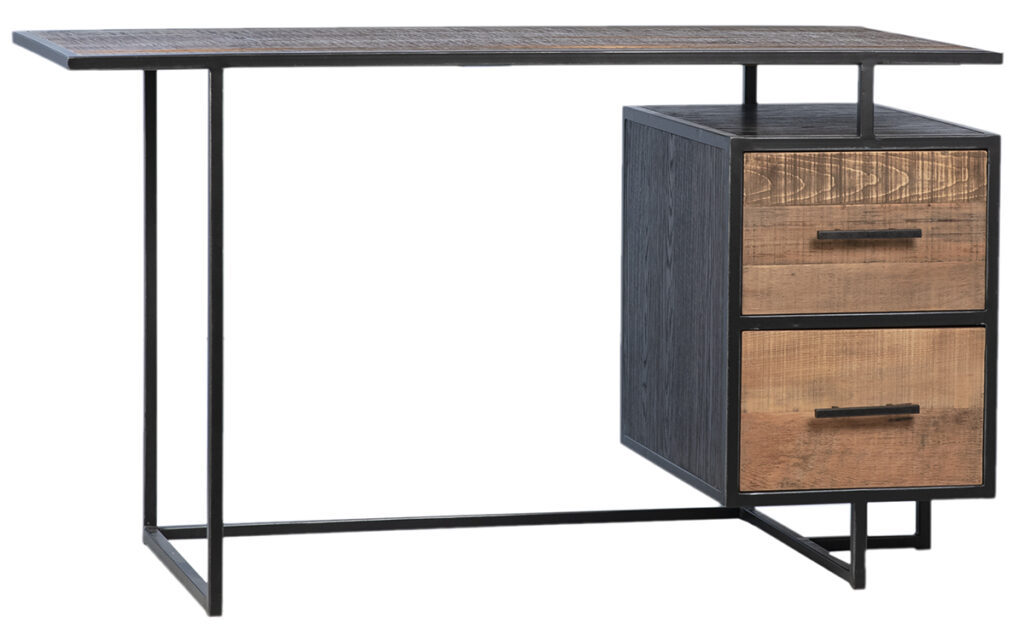 Reclaimed Wood & Iron Desk