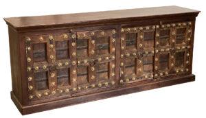 Teak Sideboard with Antique Doors