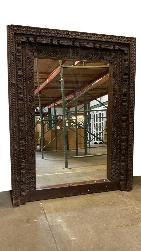 antique door frame tall mirror