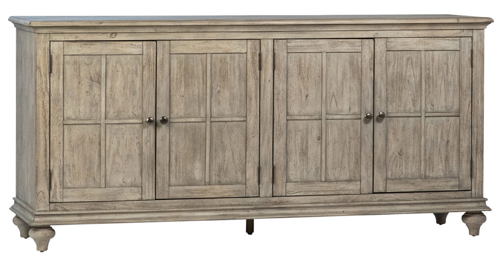 Aspen Grey Wood Sideboard