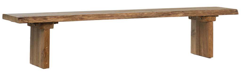 Ayala Teak Wood Indoor Outdoor Bench