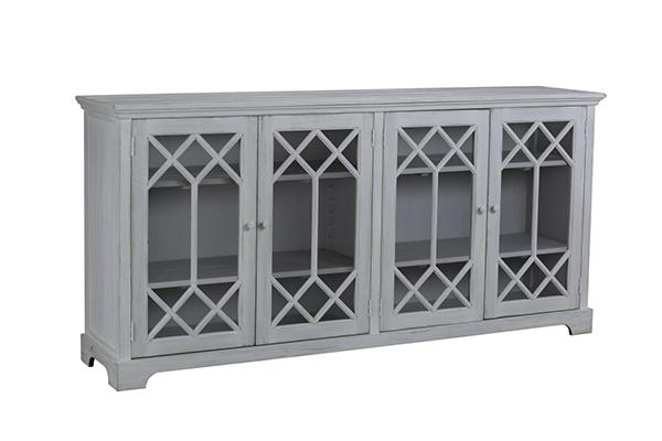 Alton White Wash Wood Sideboard