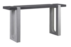 Amadeo Wood and Concrete Console Table