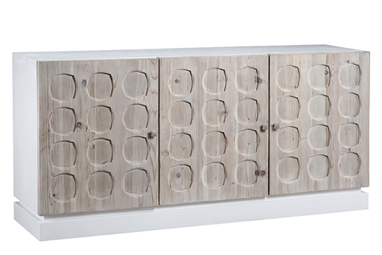 Elwell White Reclaimed Wood sideboard