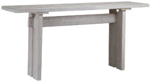 Balboa Grey White Wood Console Table