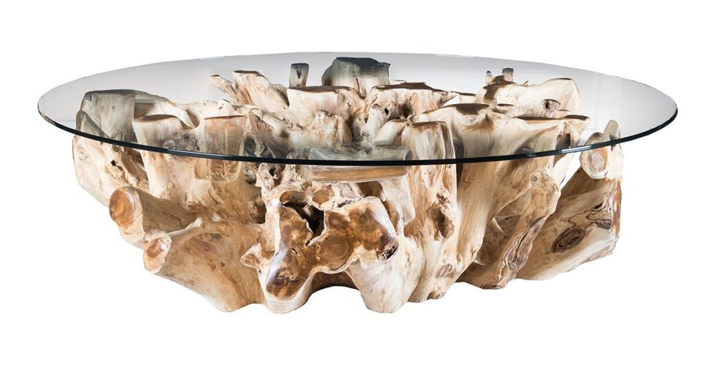 Willow Teak Root Coffee Table